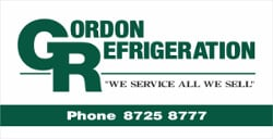 Gordon Refrigeration Sponsor Sign